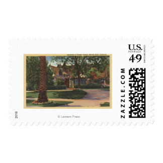 View of Eleanor Powell's Residence Postage