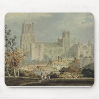 View of Ely Cathedral (pencil & w/c on paper) Mouse Pad
