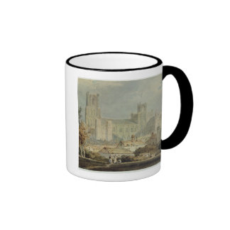 View of Ely Cathedral (pencil & w/c on paper) Coffee Mug