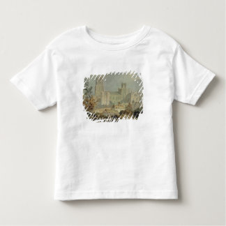 View of Ely Cathedral (pencil & w/c on paper) Toddler T-shirt