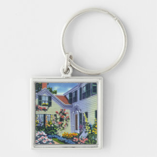 View of Emily Post Residence Keychain