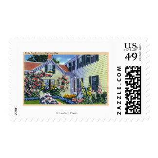 View of Emily Post Residence Stamp