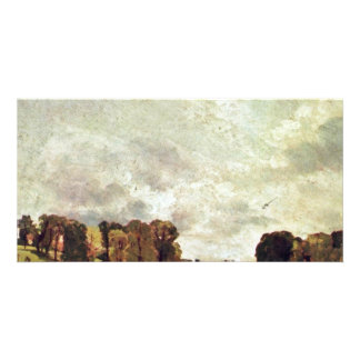 View Of Epsom By John Constable (Best Quality) Photo Cards