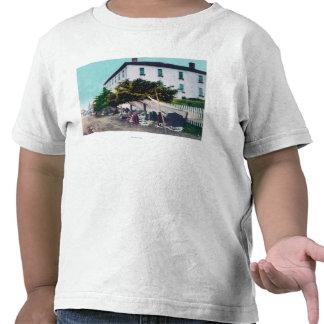 View of Eskimo Curio VendersSitka AK Shirts