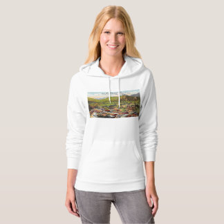 View of Estes Park Colorado Vintage Hoodie