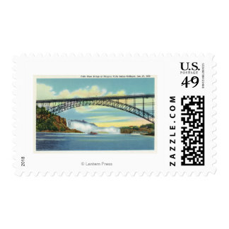 View of Falls View Bridge before Collapse Postage