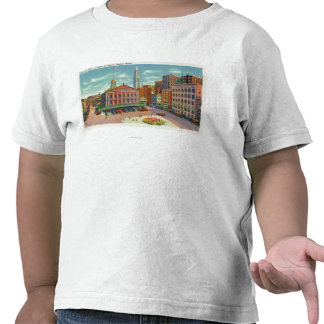 View of Faneuil Hall the Cradle of Liberty Tee Shirts