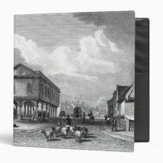 View of Faversham, Kent, 1832 3 Ring Binder