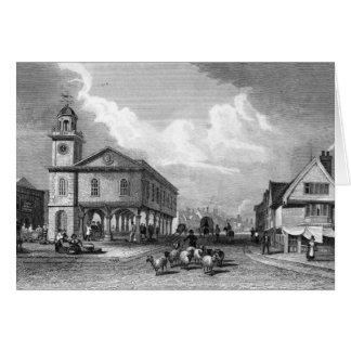 View of Faversham, Kent, 1832 Card