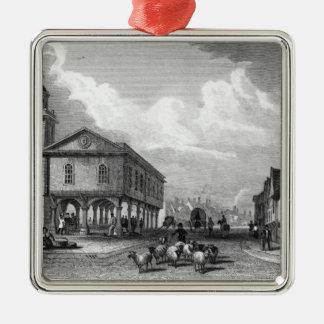 View of Faversham, Kent, 1832 Metal Ornament