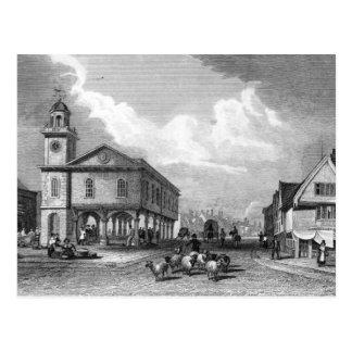View of Faversham, Kent, 1832 Postcard