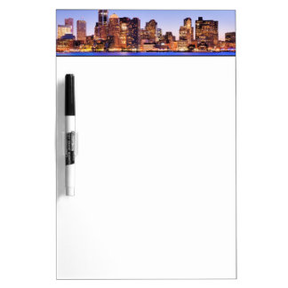 View of Financial District of downtown Boston Dry-Erase Board
