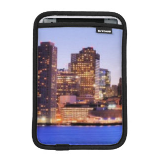 View of Financial District of downtown Boston Sleeve For iPad Mini