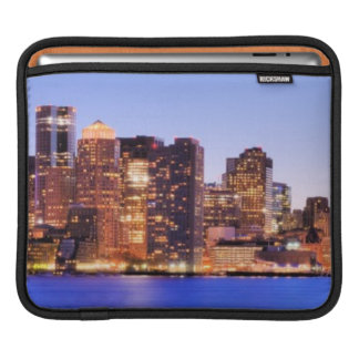 View of Financial District of downtown Boston Sleeve For iPads