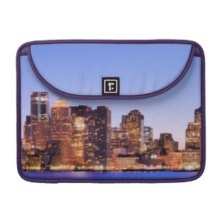 View of Financial District of downtown Boston Sleeve For MacBooks