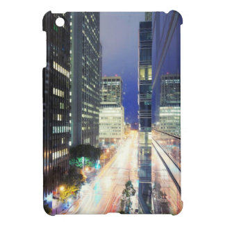 View of financial district office buildings iPad mini cases