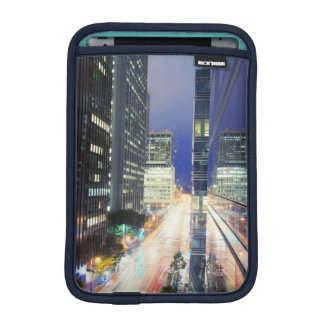 View of financial district office buildings iPad mini sleeves