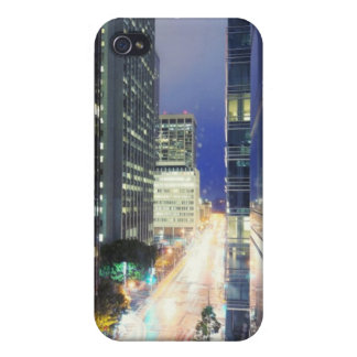 View of financial district office buildings iPhone 4/4S covers