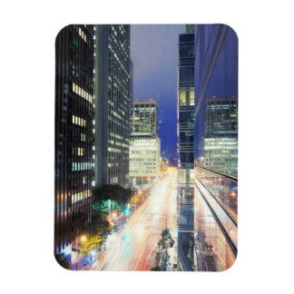 View of financial district office buildings magnet