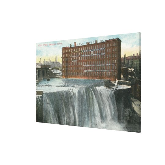 View of First Falls Canvas Print