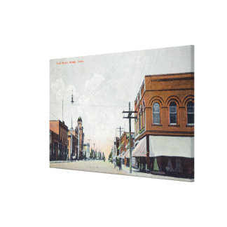 View of First StreetNampa, ID Canvas Print
