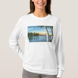 View of Fish Creek State Camping Grounds T-Shirt