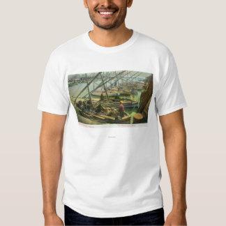 View of Fishermen's Wharf Shirts