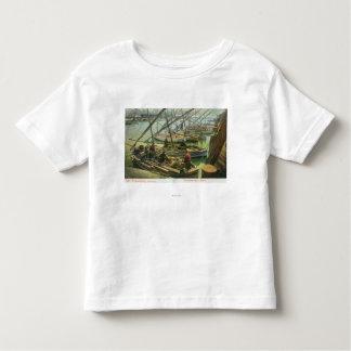 View of Fishermen's Wharf T Shirts
