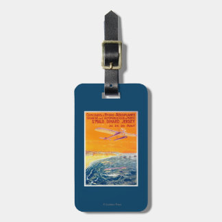 View of Float Planes in Air and Water Poster Bag Tag