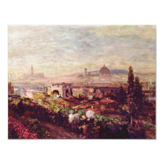 View Of Florence By Oswald Achenbach (Best Quality Announcements