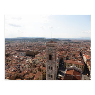 View of Florence from the top of the Duomo Santa Postcard