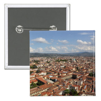 View of Florence, Italy from the top of the 2 Buttons