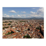 View of Florence, Italy from the top of the 2 Post Cards