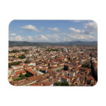 View of Florence, Italy from the top of the 2 Magnet