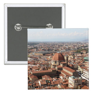 View of Florence, Italy from the top of the Buttons