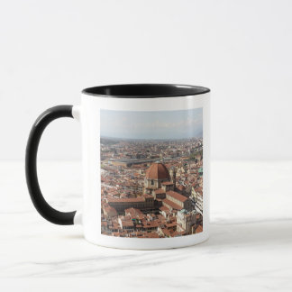View of Florence, Italy from the top of the Mug