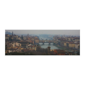 View of Florence Italy Gallery Wrap Canvas
