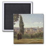 View of Florence Refrigerator Magnet