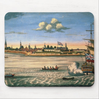 View of Fort George, with the city of New York fro Mouse Pad