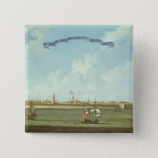 View of Fort St. George in the East Indies Pinback Button