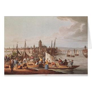 View of Frankfurt, 1814 Card
