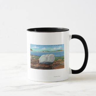 View of Frenchman's Bay and Balance Rock Mug