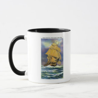 View of Frigate Constitution, Old Ironsides Mug
