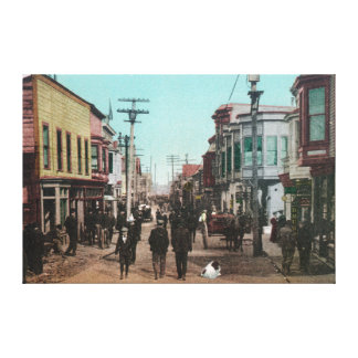 View of Front StreetNome, AK Canvas Print