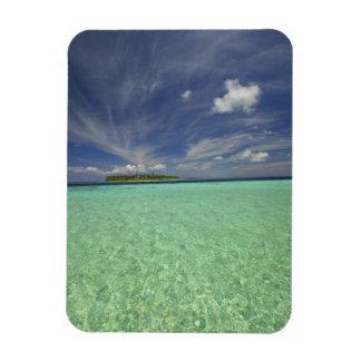 View of Funadoo Island from Funadovilligilli 2 Vinyl Magnets