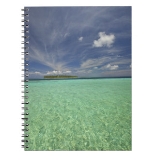 View of Funadoo Island from Funadovilligilli 2 Spiral Notebook