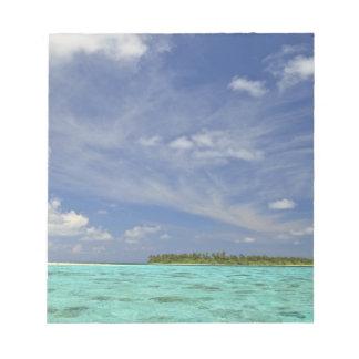 View of Funadoo Island from Funadovilligilli 3 Notepad