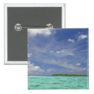 View of Funadoo Island from Funadovilligilli 3 Pinback Button