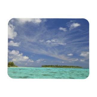 View of Funadoo Island from Funadovilligilli 3 Rectangle Magnets