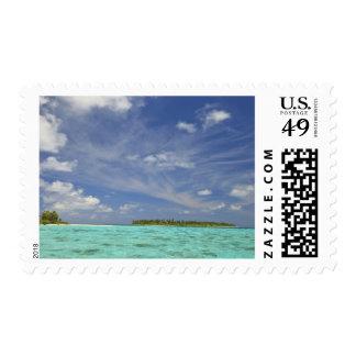 View of Funadoo Island from Funadovilligilli 3 Stamp